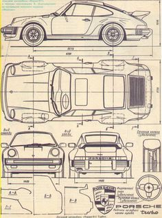 Spec Sheet for a classic 911 Turbo