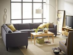 Mitchell Sectional By Rowe. Part Of Our RXO Collection.