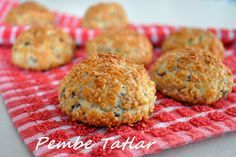Sesame Cookies Recipe, How To, Cookie Recipes Cookie Recipes, Dessert Recipes, Desserts, Recipe For Sesame Cookies, Tea Time Snacks, Recipe Sites, Food Words, Turkish Recipes, Food And Drink
