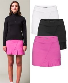 Lija Ultimate Golf Skort with side pleat | #SALE #Golf4Her
