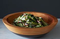 10 Asian-Inspired Salads to Dig a Fork In | Sesame Peanut Cucumber Salad