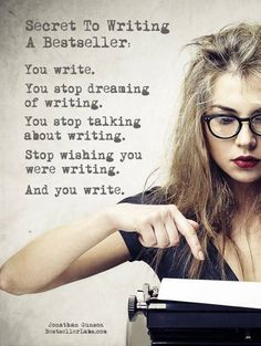 The moment I came to this simple conclusion was the moment I began my first book; a book that I have now finished after years of only dreaming of finishing it.