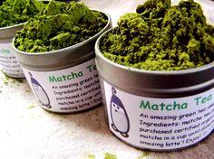 matcha tea on Etsy, Sold
