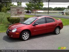 red 2003 red dodge neon sxt | 2005 Dodge Neon SXT in Blaze Red Crystal Pearlcoat. Click to see large ...