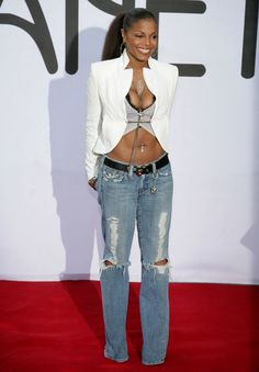 Earlier this year, <b>Janet</b> <b>Jackson</b> show off her toned body after ...