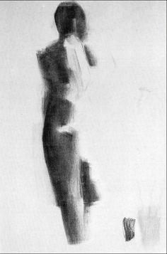 Nicolas de Stael Nude Study 2 1955