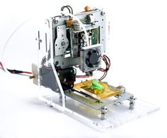 Instructables - EWaste $60 3DPrinter Needed components: 2 standard CD/DVD drives from an old PC. 1 Floppy disc drive.