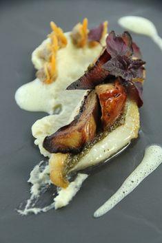 Une super recette du chef christophe bacqui pour sublimer le loup ou le bar favorite - La table du square chaudefonds sur layon ...