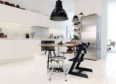Un apartamento que asombra por su cromatismo | Tikinti