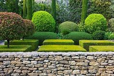 Luberon garden designed by Michel Semini Landscape Architecture, Landscape Design, Garden Design, Formal Gardens, Outdoor Gardens, Modern Landscaping, Garden Landscaping, Topiary Garden, Dream Garden