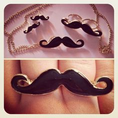 Mustaches :).. for u Marlo