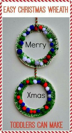 Paper Plate Christmas Wreath Simple Fun And A Great