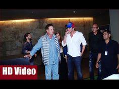 Salman Khan's father Salim Khan & brother Sohail Khan at the special screening of FREAKY ALI. See the full video at : https://youtu.be/5mmyZ__eW4E #salmankhan #salimkhan #sohailkhan #freakyali #bollywood #bollywoodnews #bollywoodnewsvilla #latestbollywoodnews