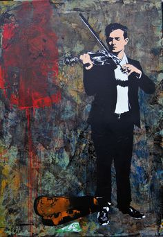 Regarded as a godfather of the graffiti movement and the originator of Stencil art, Blek Le Rat shows up at London Opera Gallery for a major solo exhibition charting his career. Graffiti Art, Blek Le Rat, Modern Art, Contemporary Art, Protest Art, Spray Paint Art, Stencil Painting, Art For Art Sake, Street Artists