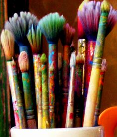 #art #painting #paintbrushes