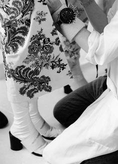 Maison Martin Margiela Haute Couture Fall 2014 Backstage Ph. Alexandra Utzmann