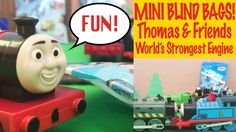 Thomas & Friends Mini Mystery Blind Bags - World's Strongest Engine Trac...