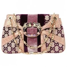 Purple Velvet Handbag GUCCI ($16) ❤ liked on Polyvore featuring bags, handbags, gucci, purple bag, purple handbags, gucci purses and purple velvet bag