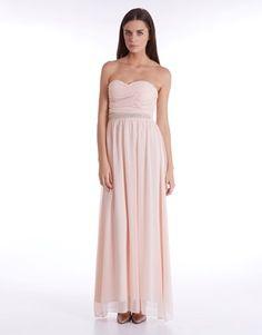 Elise Ryan Wrap Front Maxi Dress