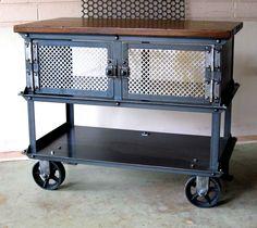 Great as a bar cart.