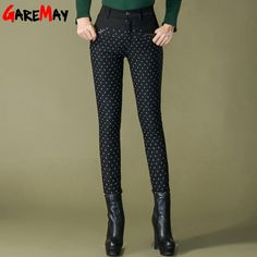Women Winter Duck Down Pants Warm Trousers For Women Female plus size Dot Fashion Pant slimming Thick Pencil ski Down Pants Y335-in Pants & Capris from Women's Clothing & Accessories on Aliexpress.com | Alibaba Group