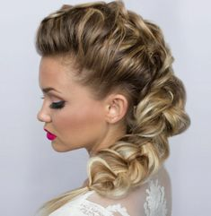 DIY Braided Hairstyle Tutorial: How To Create A Voluminous Sweet & Sexy Side Dutch Braid : Beauty : Fashion Times