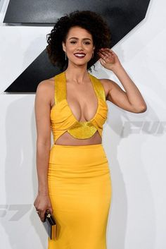 """These 15 sexy actresses from """"Game of Thrones"""" who like the small screen . - These 15 sexy Game of Thrones actresses who ignite the small screen - Gossip Girls, Beautiful Celebrities, Beautiful Actresses, Nathalie Emmanuel, Yellow Gown, Femmes Les Plus Sexy, Hollywood Celebrities, Beautiful Black Women, Ideias Fashion"""