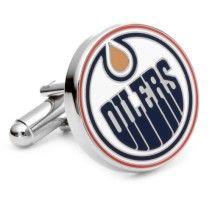 Edmonton Oilers Cufflinks NHL Cufflinks Logo