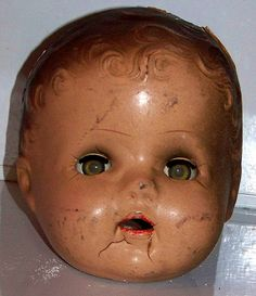 One of my larger baby doll heads