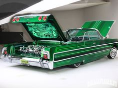 Pix For > 1964 Chevy Impala Lowrider Wallpaper