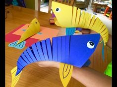 How to make Moving Fish (Like Krokotak) - YouTube