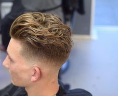 men fade haircuts for layered hair