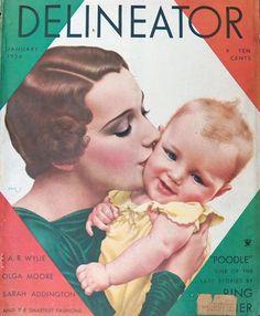 Delineator, January 1934. Dynevor Rhys