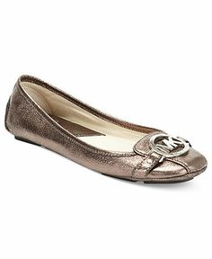 MICHAEL Michael Kors Shoes, Fulton Moc Flats - Flats - Shoes - Macy's