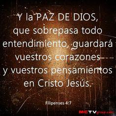La PAZ DE DIOS Guardará tu Corazón y tus Pensamientos. - taken by @Roberth ZG - via http://instagramm.in
