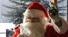 In the Tudor and Victorian Era's, Father Christmas wore a green suit.