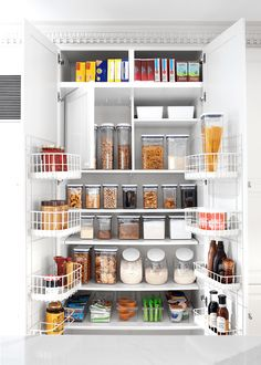 We brought pantry peace to the chaos. Here's the 10 steps we took to creating Tara's Pantry Makeover with OXO POP Containers. Kitchen Organization Pantry, Kitchen Pantry, Home Organization, Kitchen Storage, Kitchen Reno, Kitchen Tips, Dining Room Table, Kitchen Dining, Organizational Plan