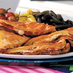 Hot Antipasto Sandwiches Recipe