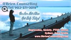 How do you know you are depressed? How do you deal with depression?  Help with depression is available from a local counsellor in Sydney NS, so reach out if you are having issues with depression, anxiety, stress, and PTSD.. or any other stressful situations - 902-371-3018  #counsellor #depression #stress #ptsd #anxietyissues