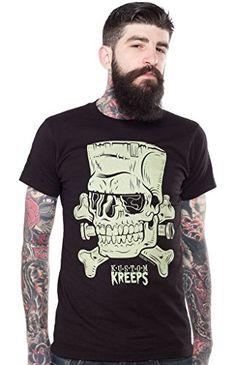 Men's Kustom Kreeps Frankenskull T-Shirt S Kustom Kreeps http://www.amazon.com/dp/B00VQPTCXY/ref=cm_sw_r_pi_dp_5L0pvb1YY7W01