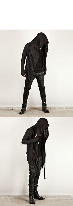 Triple zipper accent coated black slim biker jeans - 161 - NSIE NewStylish