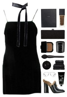 """Barcelona"" by nauditaolivia ❤ liked on Polyvore featuring Ray-Ban, Michael Kors, Smythson, Gucci, NARS Cosmetics, Diptyque, Christy and TokyoMilk"
