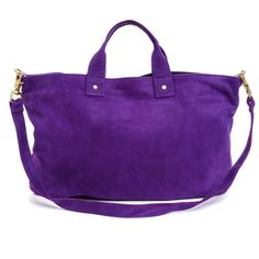 #purple #sued #bag