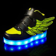 >> Click to Buy << 2017 Fashion LED luminous for kids children casual shoes glowing usb charging boys & girls sneaker with 7 colors light up new #Affiliate
