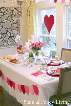 Valentines brunch for your love