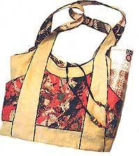 Make Hobo Bag Kangaroo Bag Pattern by Kayla Kennington * Go Bags, Purses And Bags, Purse Patterns, Sewing Patterns, Diy Handbag, Unique Purses, Handmade Handbags, Fabric Bags, Love Sewing