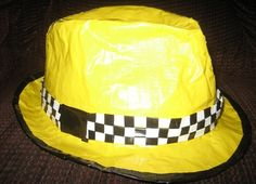 Duct Tape Crafts Hats
