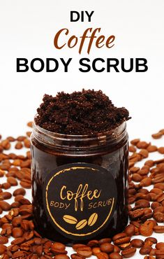 coffee diy This DIY coffee scrub will make your legs smoother and will reduce appearance of cellulite. Perfect body scrub for summer. Easy to make and comes with a label, so you can make your homemade coffee scrub jars look nice and gift them. Body Scrub Recipe, Diy Body Scrub, Sugar Scrub Recipe, Diy Scrub, Coffee Body Scrub Diy, Coffee Body Scrubs, Exfoliating Body Scrub Diy, Coffee Ground Scrub, Natural Body Scrub