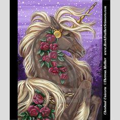 Chestnut Unicorn by Theresa Mather