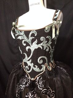 theatrical costume portfolio of Cynthia Settje, owner of Redthreaded Costumes & Corsets Broadway Costumes, Costume Design, Fairy Tales, Corsets, Antiques, Vintage, Style, Antiquities, Swag